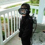 DIY Scuba Diver Costume
