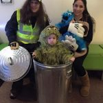 Cute DIY Family Sesame Street Costume