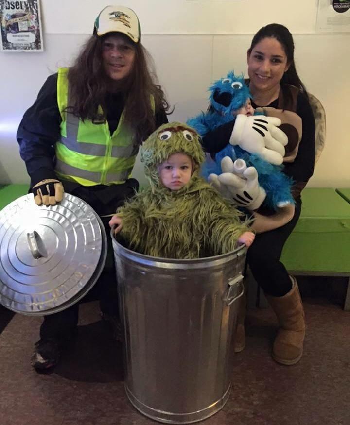 Cute Diy Family Sesame Street Costume Costume Yeti