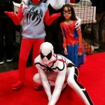 Homemade Spiderman Family Costume