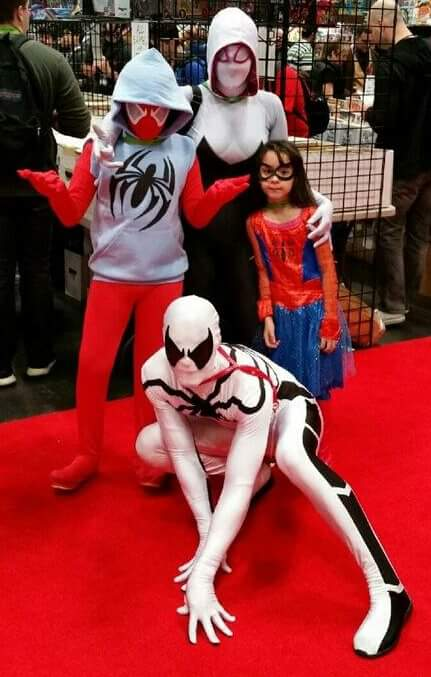 Spider man family