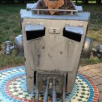 Incredible Homemade Star Wars AT-AT Costume