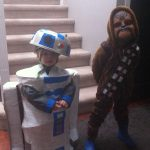 Star Wars R2-D2 and Chewbacca Costumes for Kids