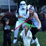 Easy Star Wars Family Costume