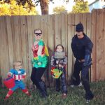 The Superhero Family Costume