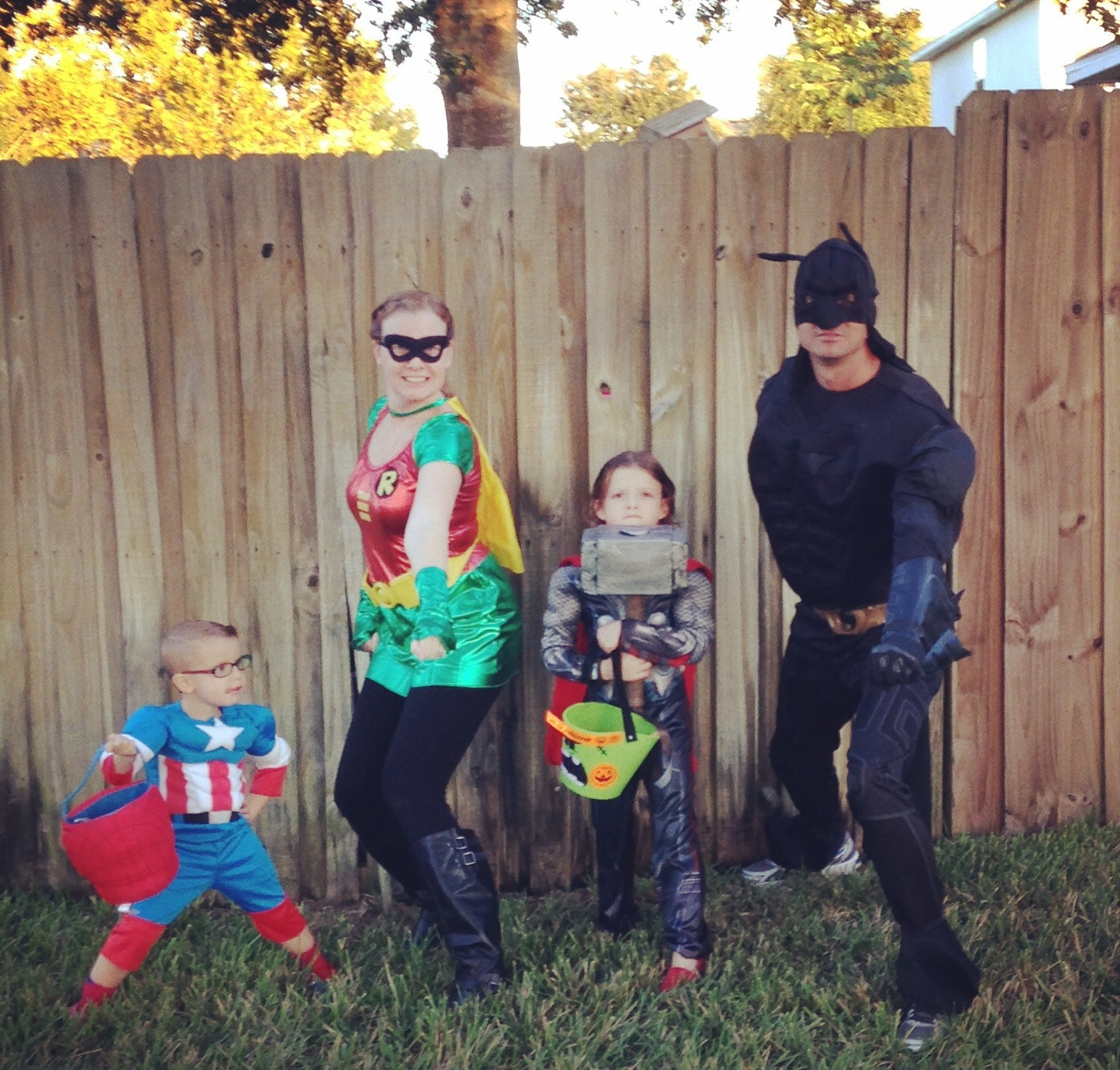 Superhero family
