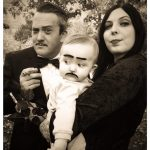 DIY Addams Family Costume for a Family of 3