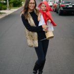 Homemade Little Red Riding Hood Family Costume