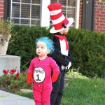DIY The Cat in the Hat Family Costume