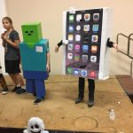 DIY iPhone Costume for Kids