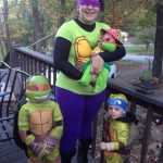 Teenage Mutant Ninja Turtles Family Costume