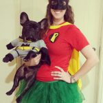 Batman and Robin Costumes for Dogs and Owners