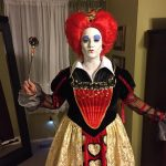 Homemade Red Queen Costume from Alice In Wonderland