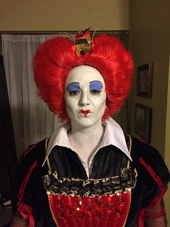 Red Queen Costume Makeup Saubhaya