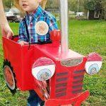 Homemade Tractor Mac Costume