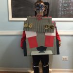 Homemade Transforming Optimus Prime Kids Costume