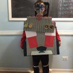 Homemade Transforming Optimus Prime Kids Costume