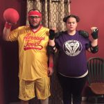 DIY Dodgeball Couples Costume