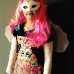 Homemade Unicorn Girl Costume