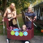 DIY Viking Family Costumes