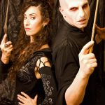 DIY Voldemort and Bellatrix Couples Costumes
