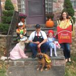 DIY Wendy's Family Costume