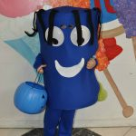 DIY Whacky Inflatable Tube Man Costume for Kids
