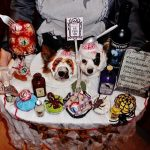 Homemade Zombie Treats Dog Costumes