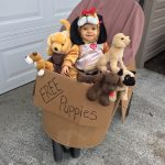 DIY Free Puppies Costume for Babies